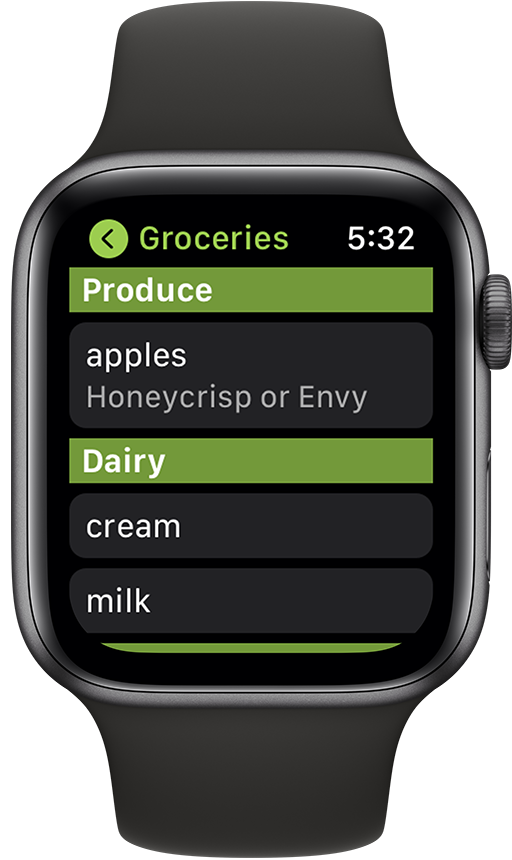 OurGroceries - User Guide